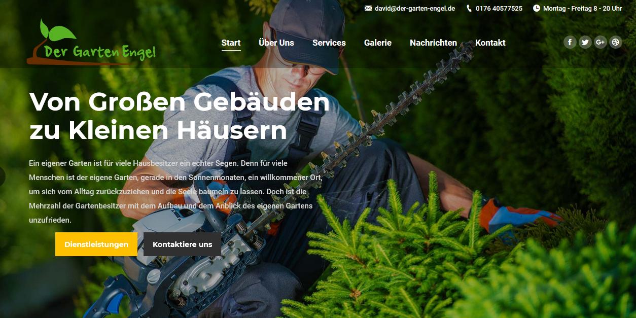 Unser Neues Projekt Der Garten Engel Alles4dich